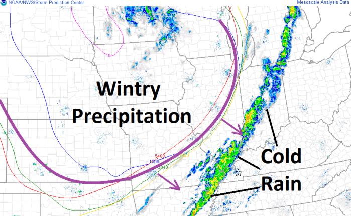 Noon Radar/Atmospheric Temperature Update