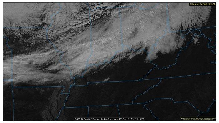 Satellite Image - Valid 2:15 PM - College of DuPage