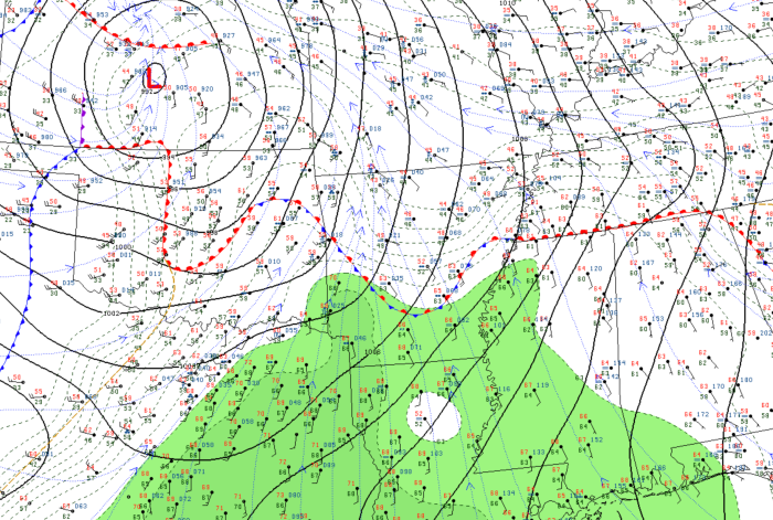 7 AM Surface Analysis - COD Meteorology